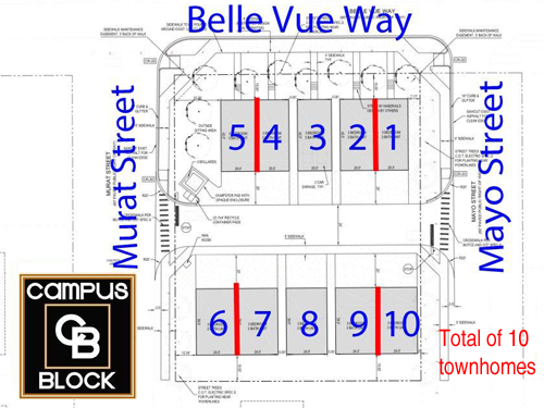 Campus Block Site Plan